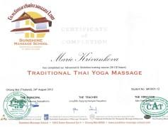 Marie Křivánková - Yoga masáže