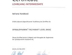 Spiraldynamik Brno, Adriána Hanáková